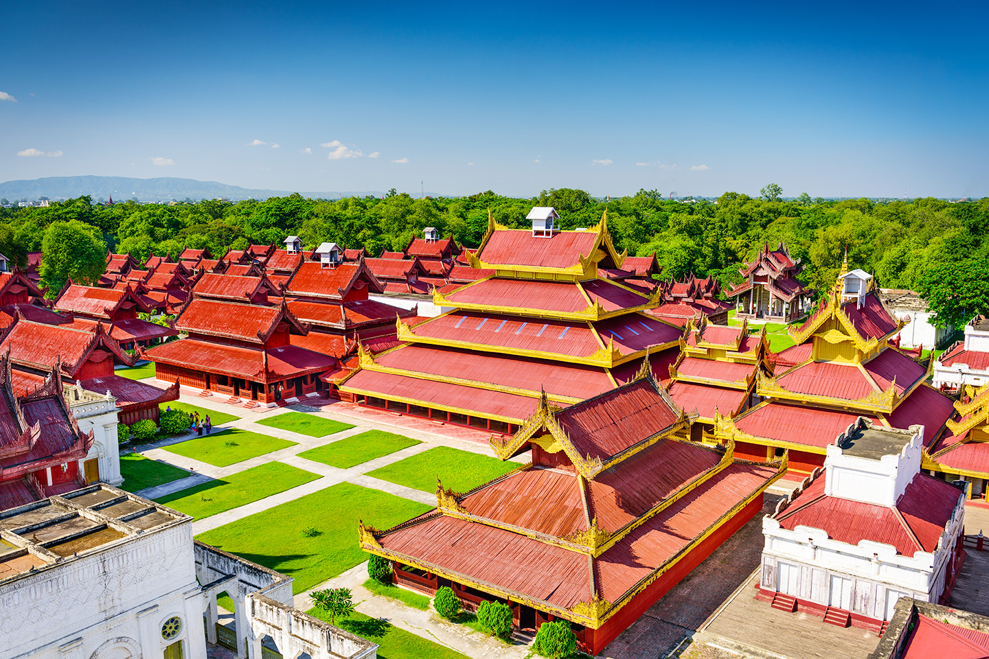 Mandalay-Fort